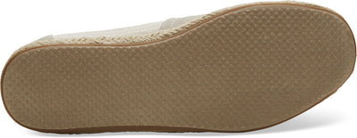 Oxford Tan Ivy League Stripes Men's Espadrilles