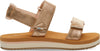 Champagne Shimmer Women's Ray Sandals