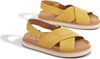 Electric Yellow Nubuck Women's Marisa Sandals