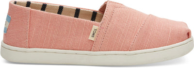 Coral Pink Heritage Canvas Youth Classics