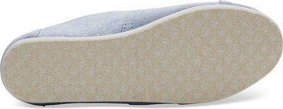 Light Bliss Blue Speckled Chambray Dots Youth Classics