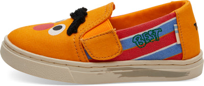Sesame Street X TOMS Bert And Ernie Face Tiny Toms Luca Slip-Ons