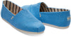 Bliss Blue Heritage Canvas Mens Alpargata