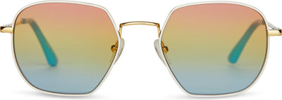 Sun- Sawyer Gold/White/Rainbow