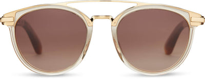 Harlan Champagne Crystal Brown Gradient Lens