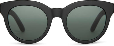 TRAVELER By TOMS Florentin Matte Black | Green Grey Lens