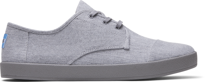 Drizzle Grey Twill Chambray Mens Paseo Sneaker