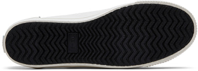 White And Black Canvas Women's Carmel Sneakers