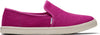 Fuchsia Heritage Canvas Womens Clement Slip-On