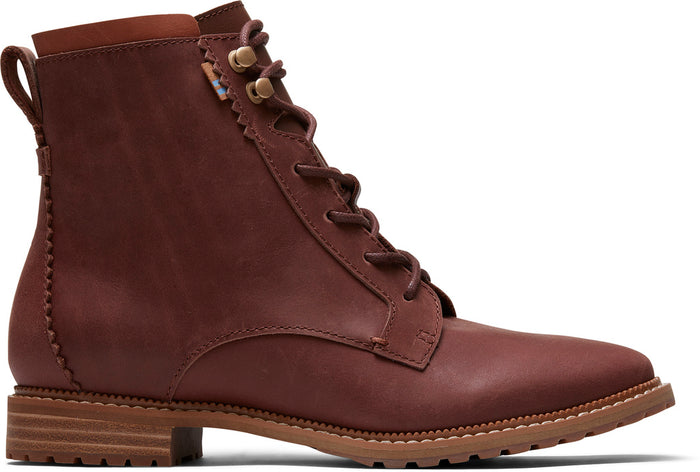 Penny Brown Leather Womens Nolita Boot