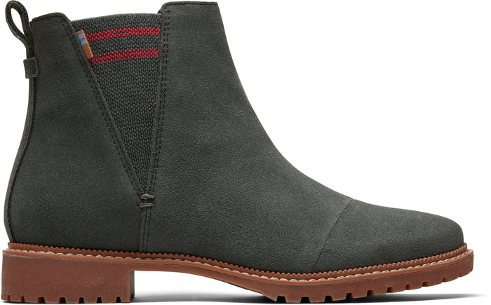 Dusty Olive Suede Women's Cleo Boot