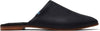 Black Leather Women's Jutti Flats