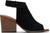 Black Suede Women's Grenada Sandals