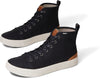 Black Heritage Canvas Men's TRVL LITE High Sneakers