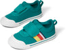 Greenlake Striped Canvas Tiny TOMS Sneakers