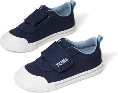 Navy Canvas Tiny TOMS Sneakers
