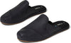 Black Leather Women's Nova Wrap Slip-Ons