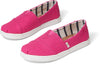 Magenta Heritage Canvas Youth Alpargata