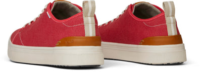 Poinsettia Heritage Canvas Mens Trvl Lite Sneakers