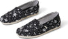 Black Space Foil Print Women's Classics Ft. Ortholite