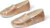 Champagne Shimmer Synthetic Women's Classics Ft. Ortholite