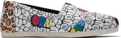 Bubble Graffiti Printed Canvas Women's Classics Ft. Ortholite