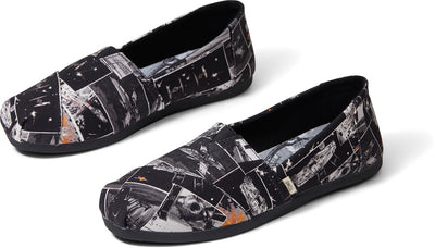 Black Star Wars Darth™ Print Women's Classics Ft. Ortholite