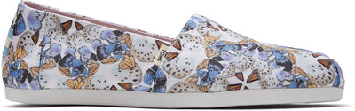 Radial Butterfly Canvas Print Women's Classics Ft. Ortholite