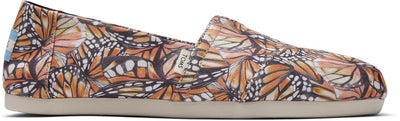Monarch Wing Canvas Print Women's Classics Ft. Ortholite