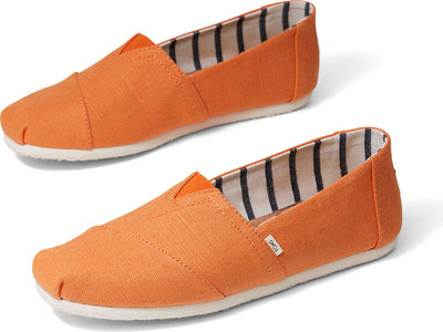 Pumpkin Heritage Canvas Mens Alpargata