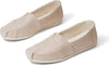 Natural Metallic Jute Women's Classics Ft. Ortholite