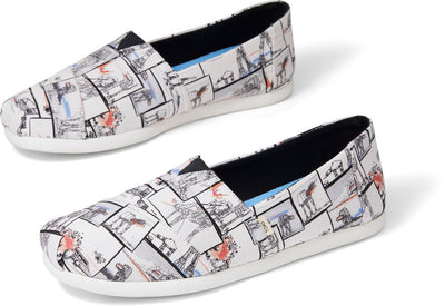 White Star Wars At-At™ Print Men Classics Ft. Ortholite