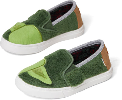 STAR WARS Yoda Terry Cloth Tiny TOMS Luca Slip-Ons