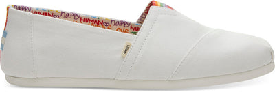 White Canvas Unity Mens Classics Ft. Ortholite