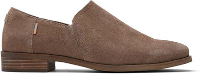 Taupe Gray Suede Womens Shalo Botie