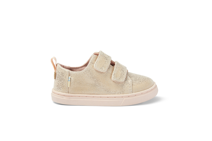 Rose Gold Lenny Double Strap Tiny Sneaker