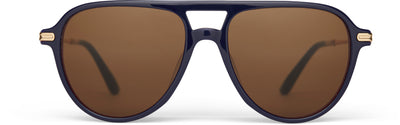 Beckett Navy Multi Lamination | Brown Polarized Lens
