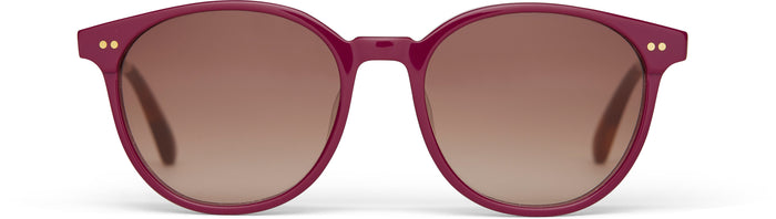 Bellini Mulberry | Brown Gradient Lens