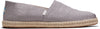 Morning Dove Linen Rope Sole Men's Classics