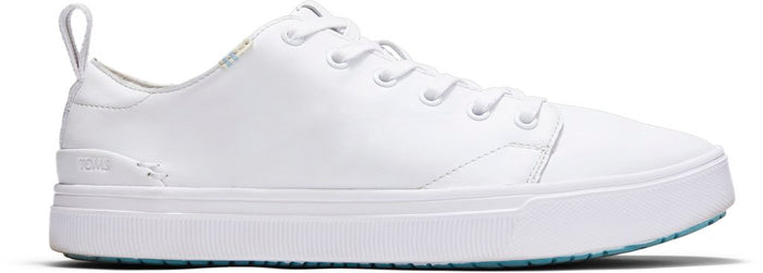 White Leather Mens Trvl Lite Low Sneakers