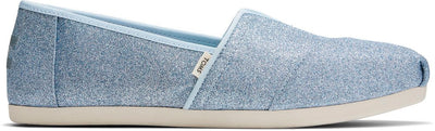 Light Blue Glitter Women's Classics Ft. Ortholite