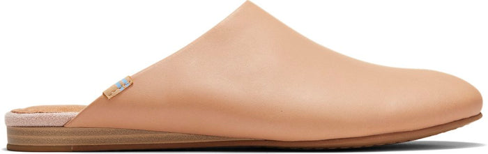 Honey Vegetable Tanned Leather Women's Kelli Mule Flats