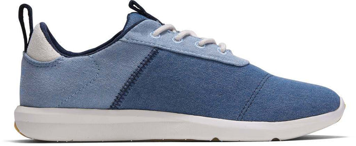 Navy Lightweight Denim Womens Cabrillo Sneaker