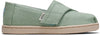 Mint Green Plant Dye Canvas Tiny Toms Classics