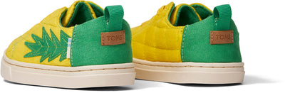 Gold Pineapple Micro Suede Lenny Sneaker