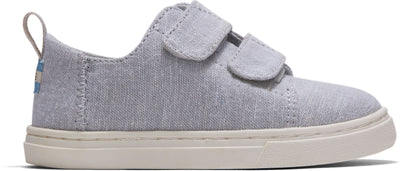 Grey Chambray Lenny Double Strap Sneaker