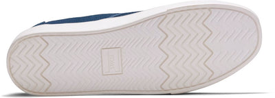 Blue Canvas Men's Cupsole Cordones Venice Collection