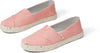 Pink Plant Dye Canvas Women's Cupsole Alpargatas Venice Collection