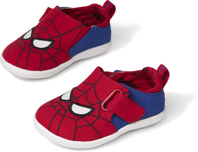 Red Marvel Spider Face Print Baby Lima Layette