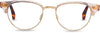 Audra Rose Crystal/Dark Tortoise | Optical Frame Only